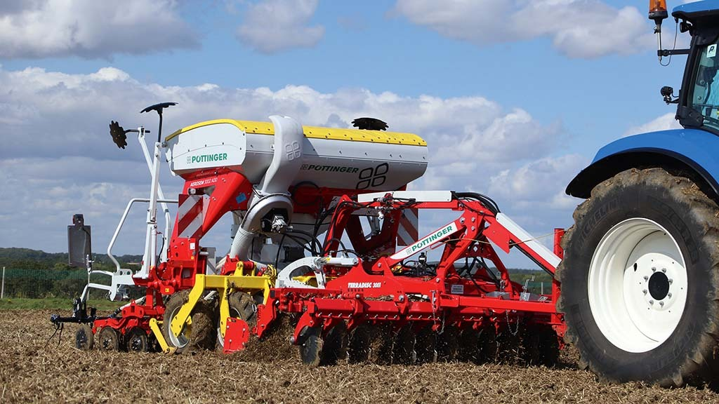 Pottinger MultiLine combi-drill