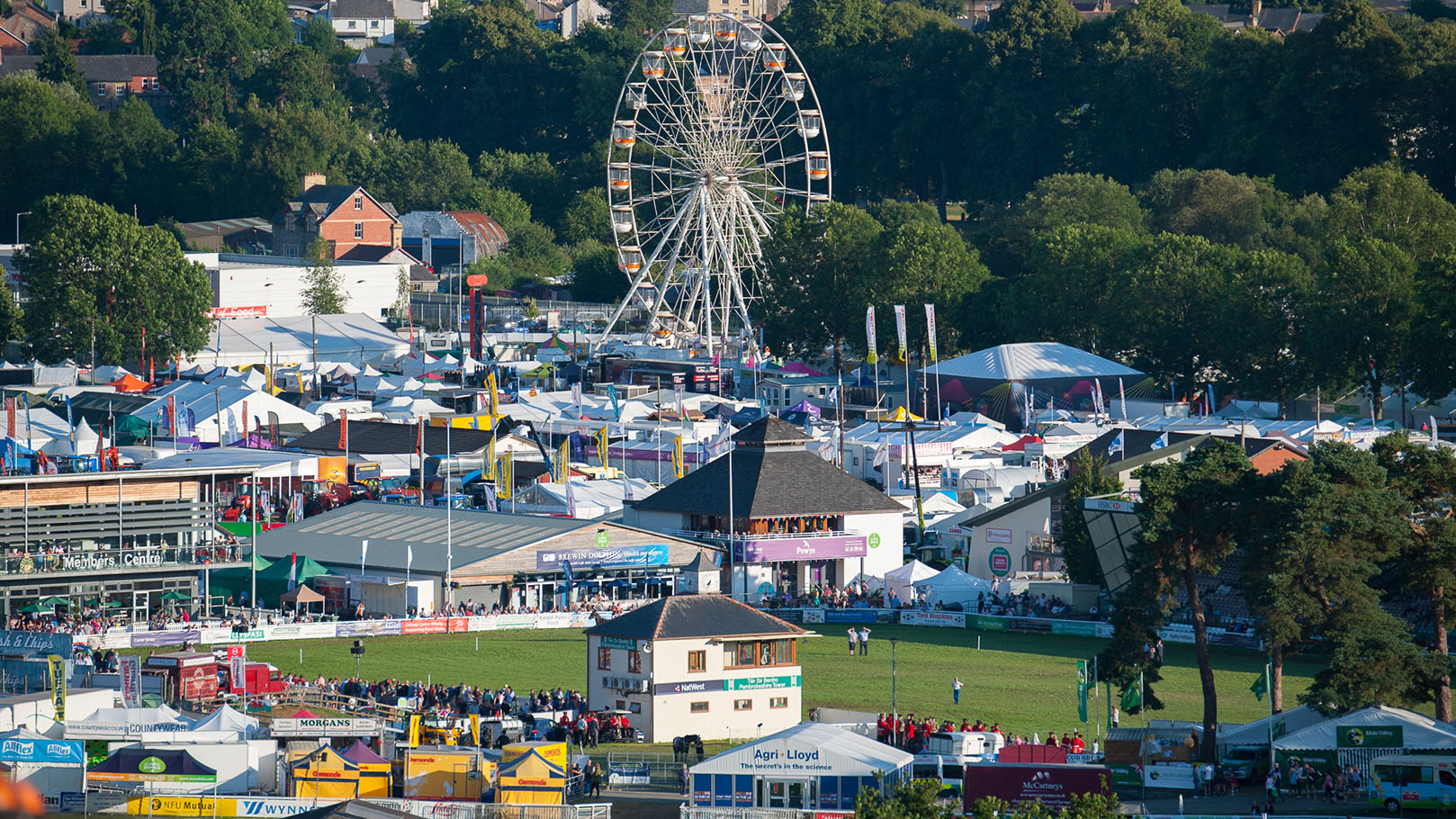 Royal Welsh Show: farmers weathering a climate of change