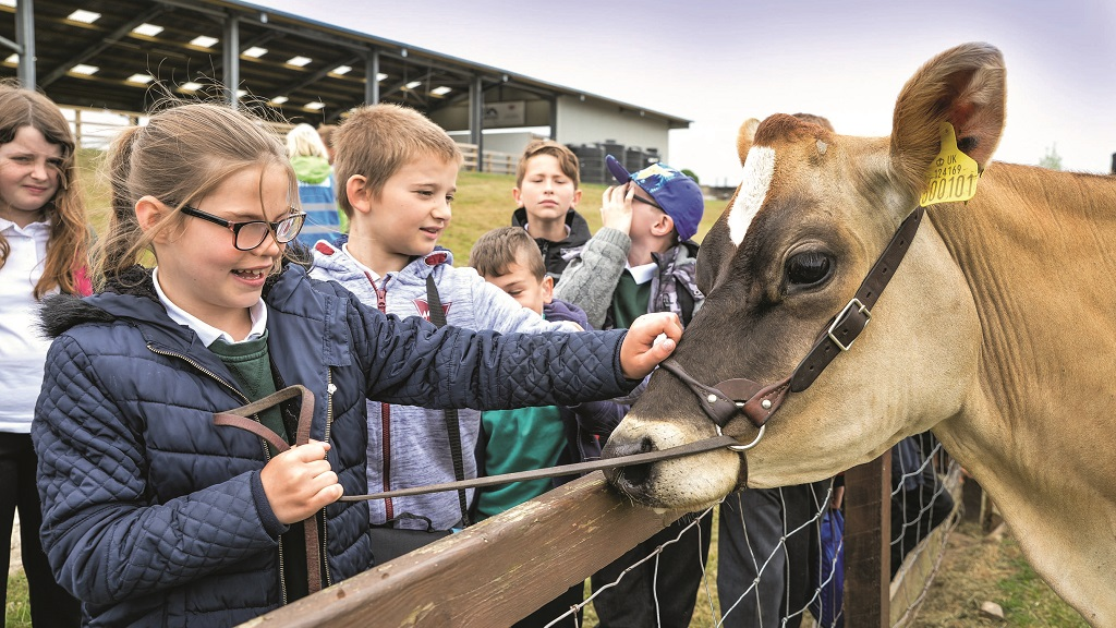 It is never too soon to start talking to children about farming