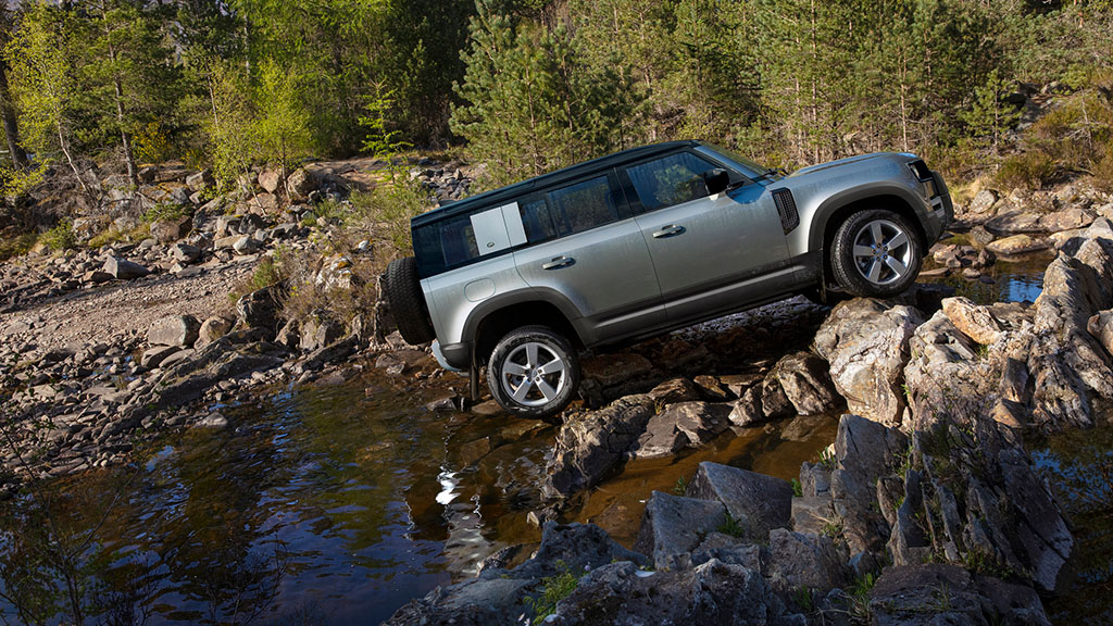 IN PICTURES: Land Rover reveals new Defender 4x4 offering