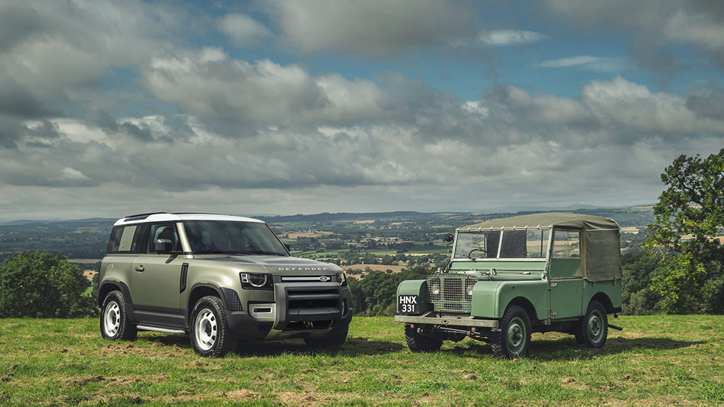 70 years on, and the new Defender carries on the original Series 1's legacy.