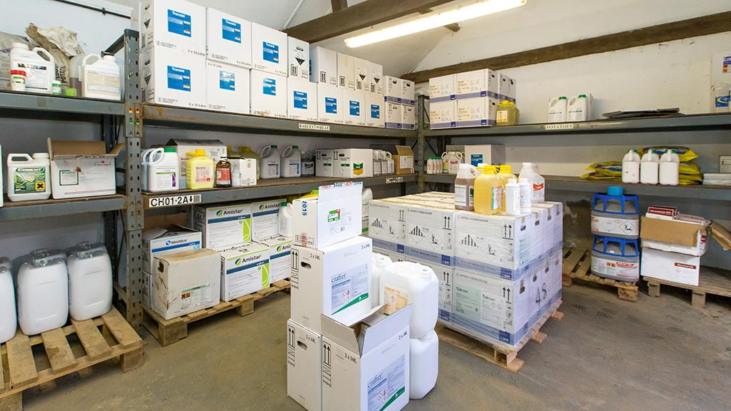 Top tips for good pesticide store management