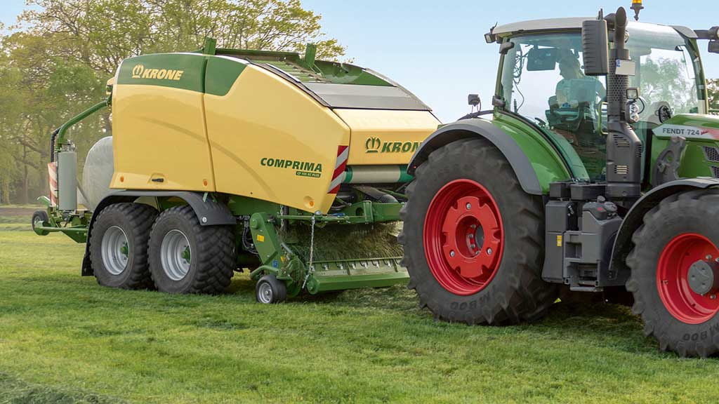 Krone reveals latest forage equipment updates and developments