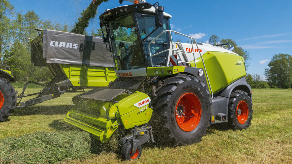 CLAAS AUTOMATED CHOPPER CONTROL