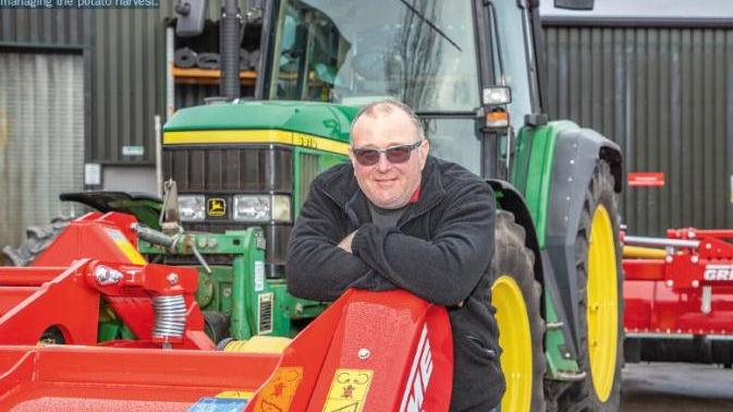 Phil Clappison says one-pass topping and spraying gives control and flexibility