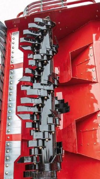 Grimme KS600 flail topperit