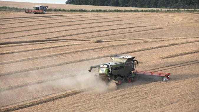 New combine in a CLAAS of its own