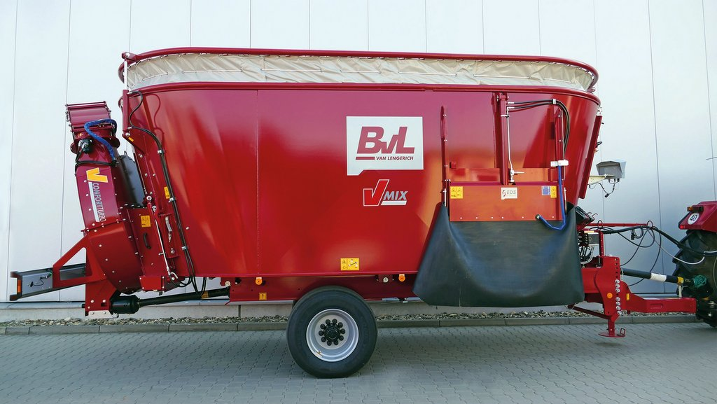 New adjustable extension from BvL reduces spills during mixing
