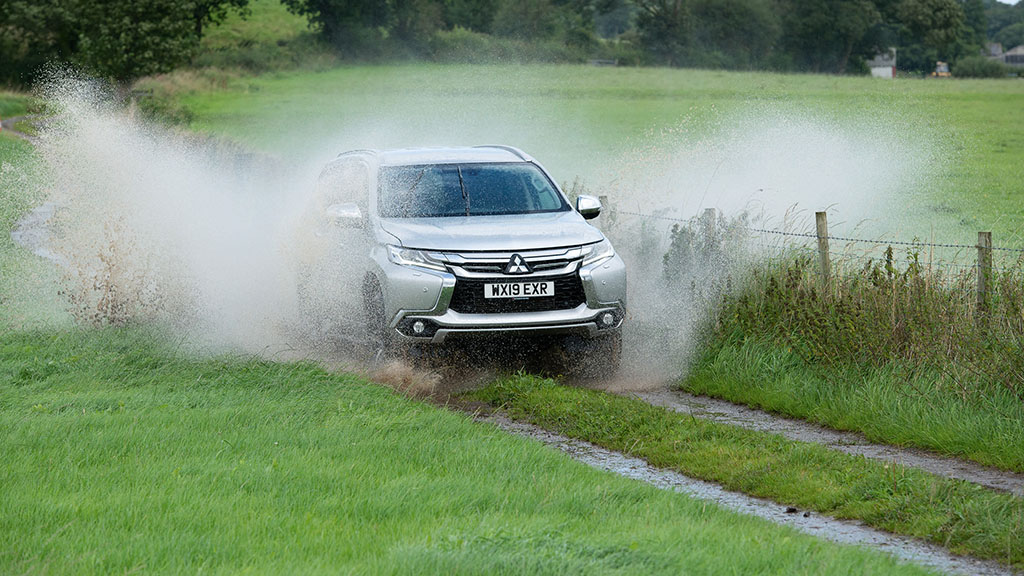 IN PICTURES: Testing the latest Mitsubishi Shogun Sport 4 on a mixed farm