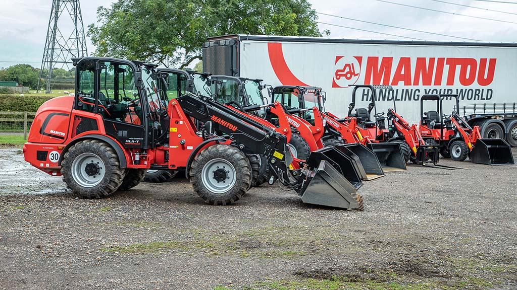 Painting the town red: Manitou expands pivot steer and skid steer loader line-ups
