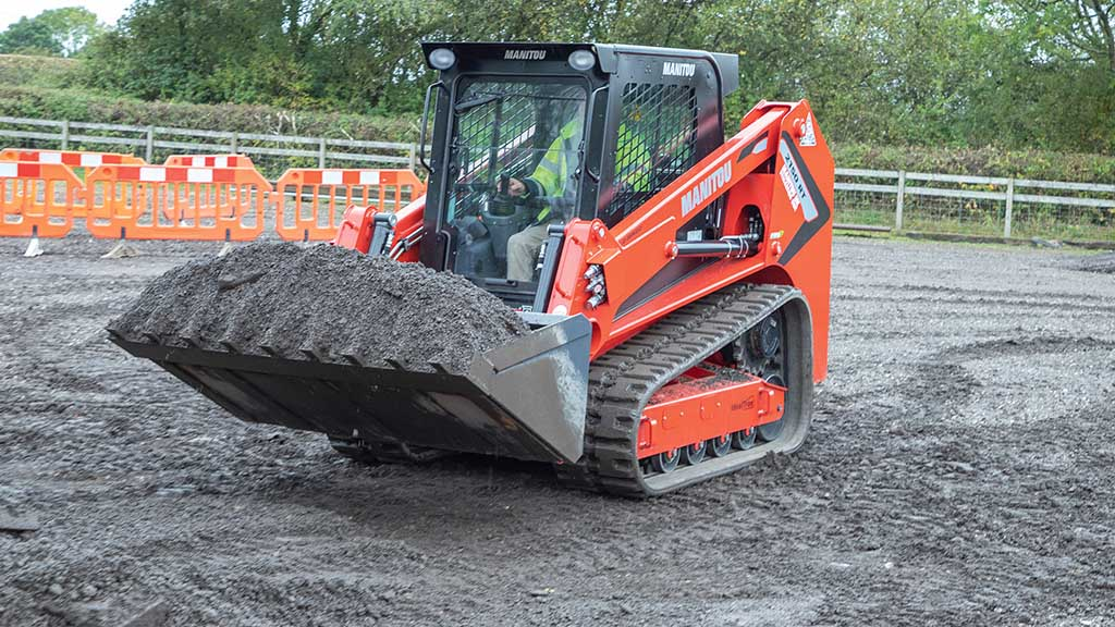 Skid steer range explained