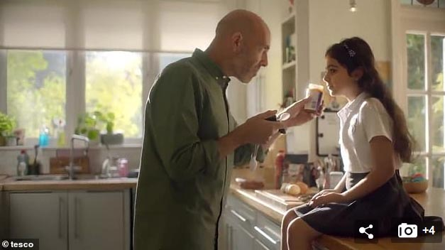 Tesco's Carl's 'All Change' Casserole Food Love Stories advert.