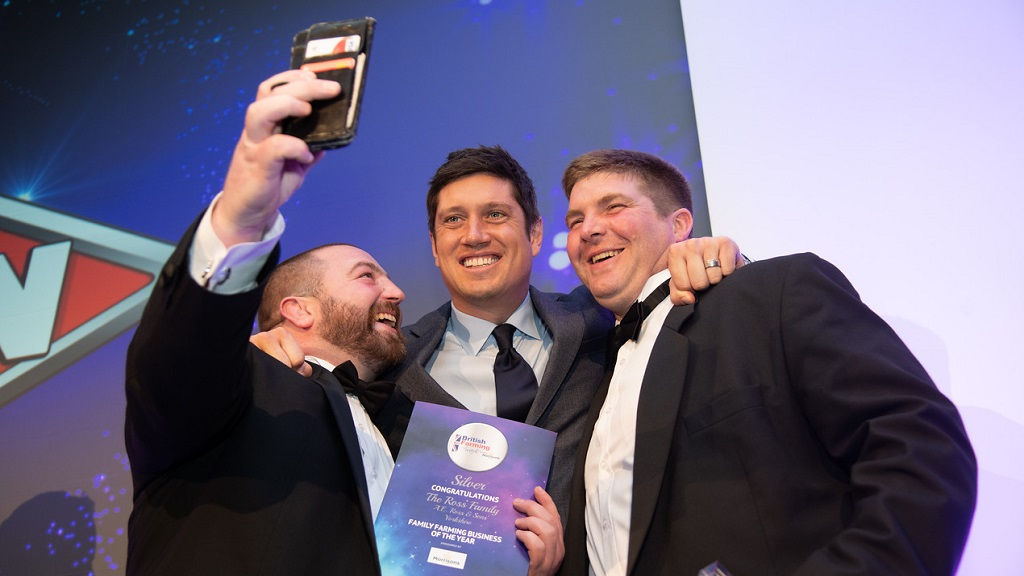 IN PICTURES: Meet all the winners from the British Farming Awards 2019