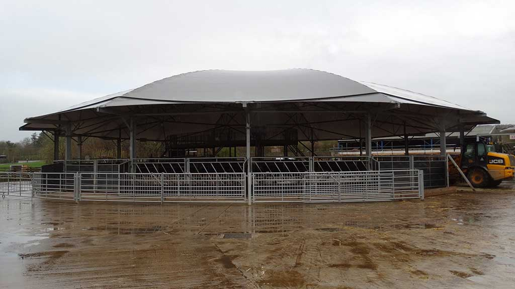 Versatile all-rounder: Roundhouse owner says building is ideal for sheep health