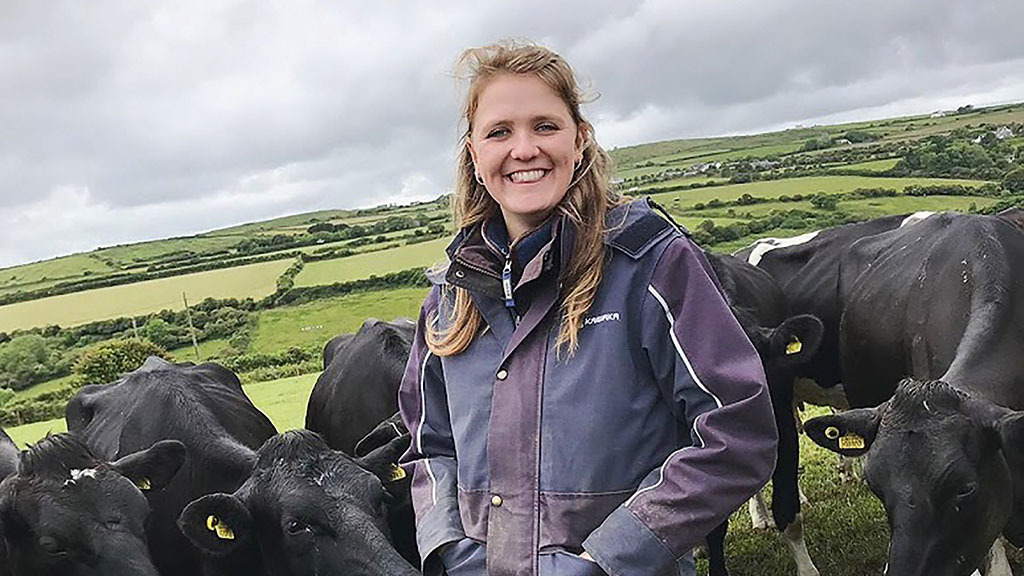 Young Farmer Focus: Amy Eggleston - 'I love sharing my daily farming adventures'