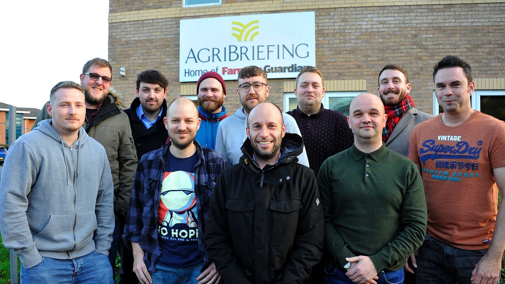 Movember: Can you help our Farmers Guardian boys raise money for men's health?