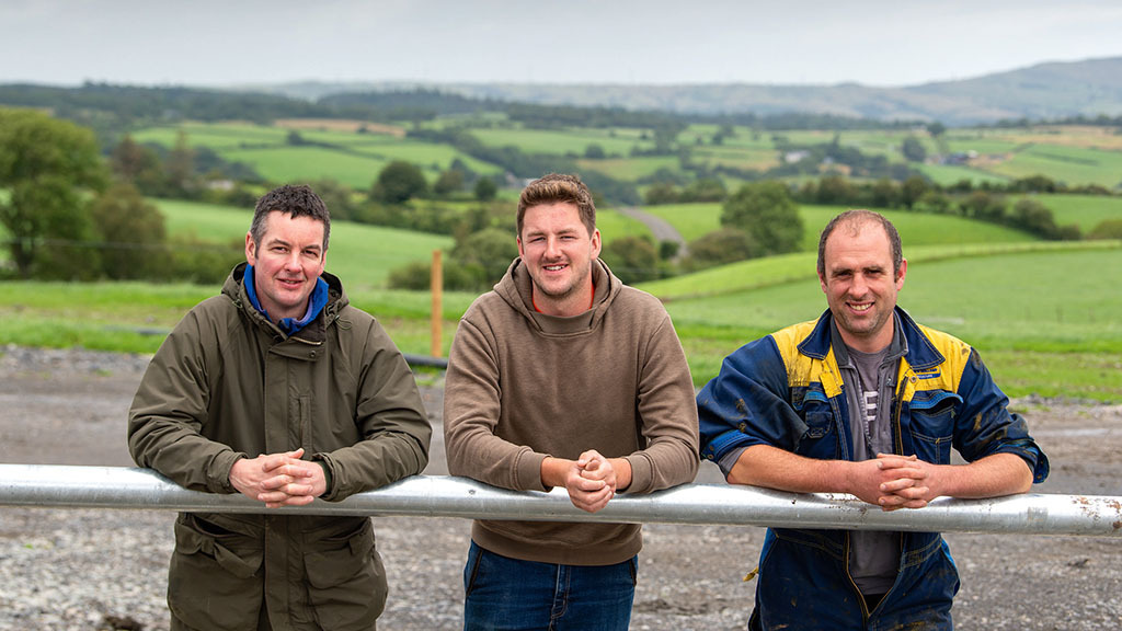 Joint 400-cow dairy venture brings two Welsh farming families together