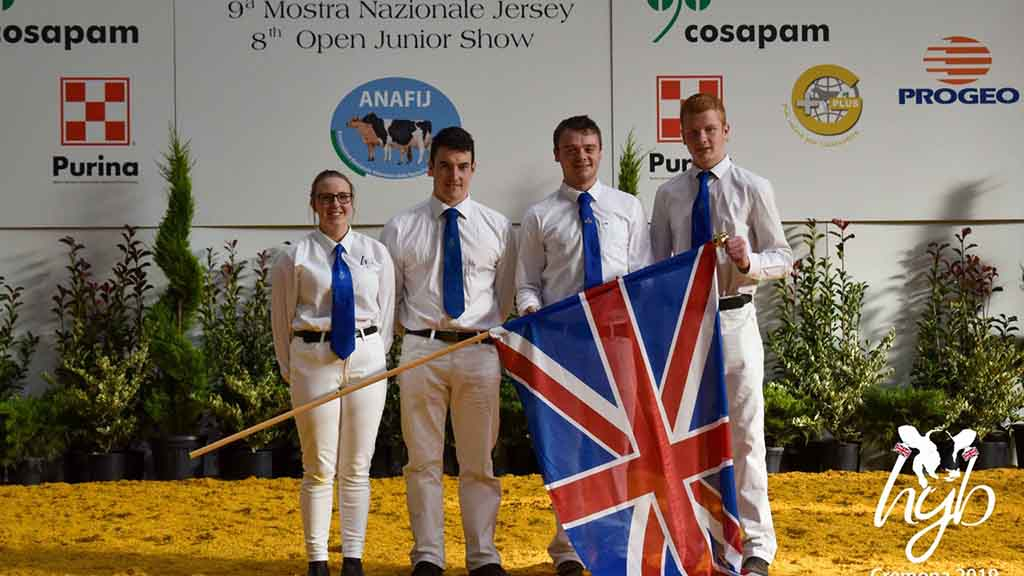 Success for young breeders representing UK in Italy