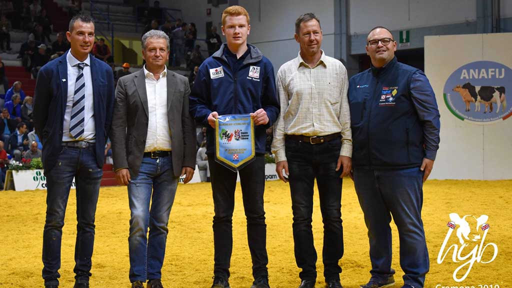 Iwan competed against 34 other young breeders to take the overall title.