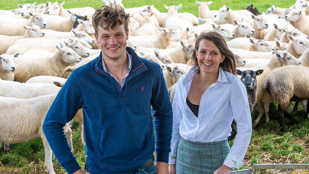 Meet the young couple who are making their mark with a popular farm shop