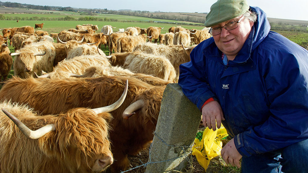 Charles Bruce: 'It has been extremely wet and cows are starting to poach land'