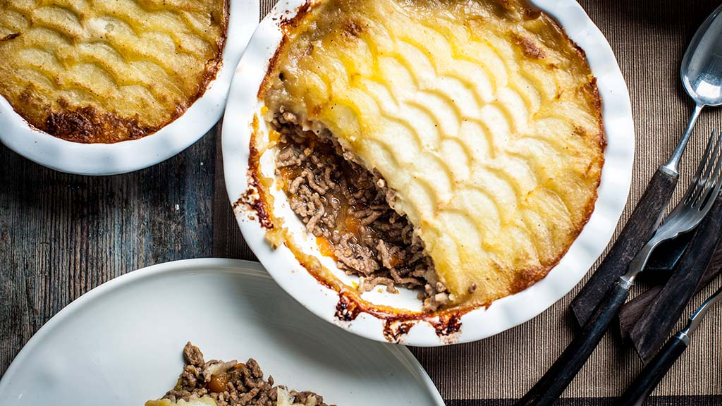 Winter warmer: Beef and onion cottage pie recipe