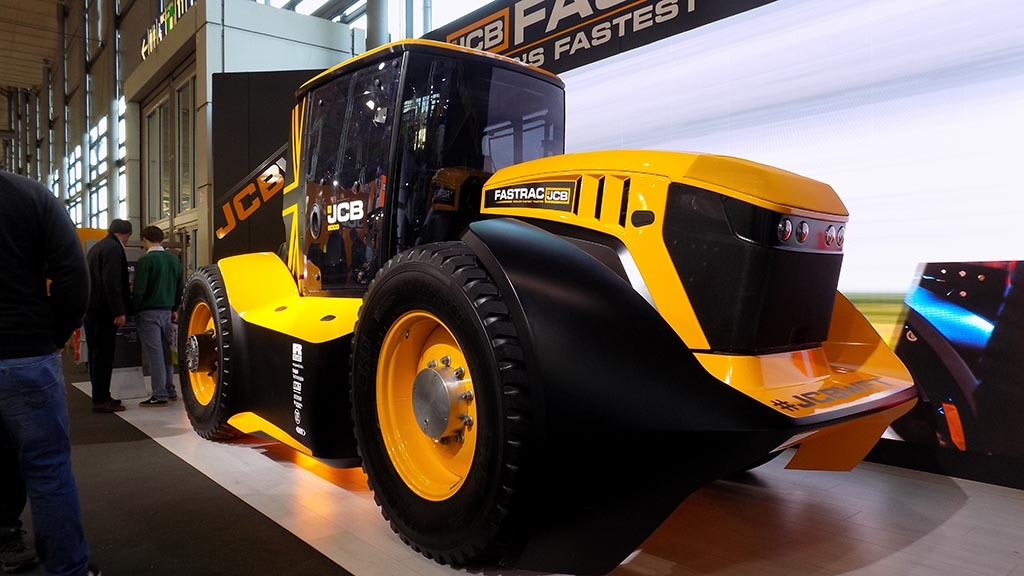 More carrying capacity for JCB Fastracs
