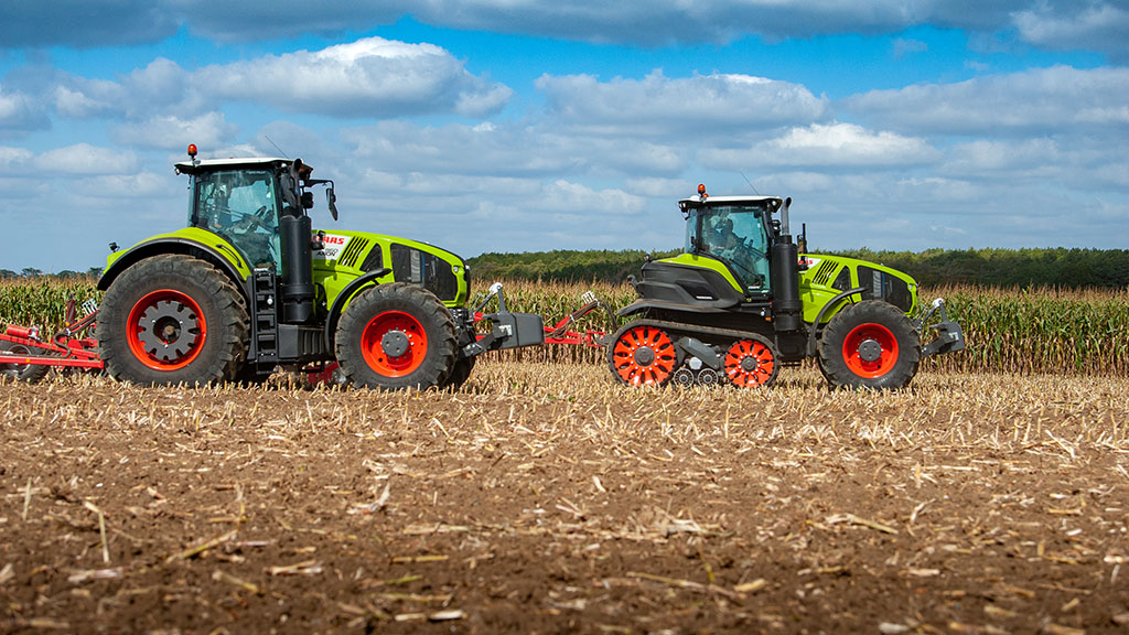 Claas adds Cemos operator assist system to Axion Terra Trac tractors