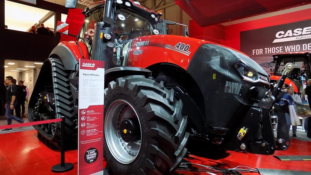 Magnum leads Case IH's connected strategy