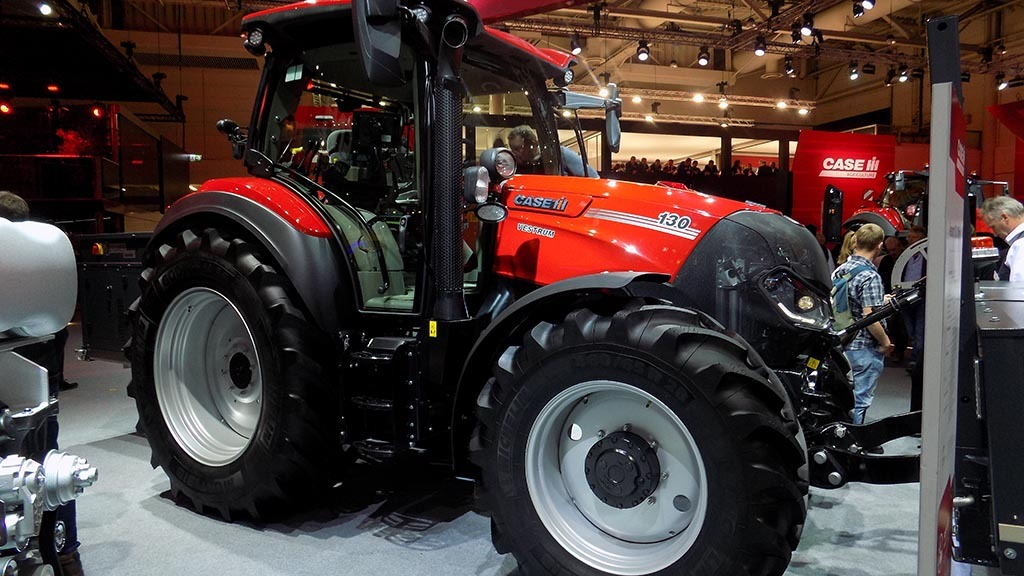 Case IH Vestrum gets show debut
