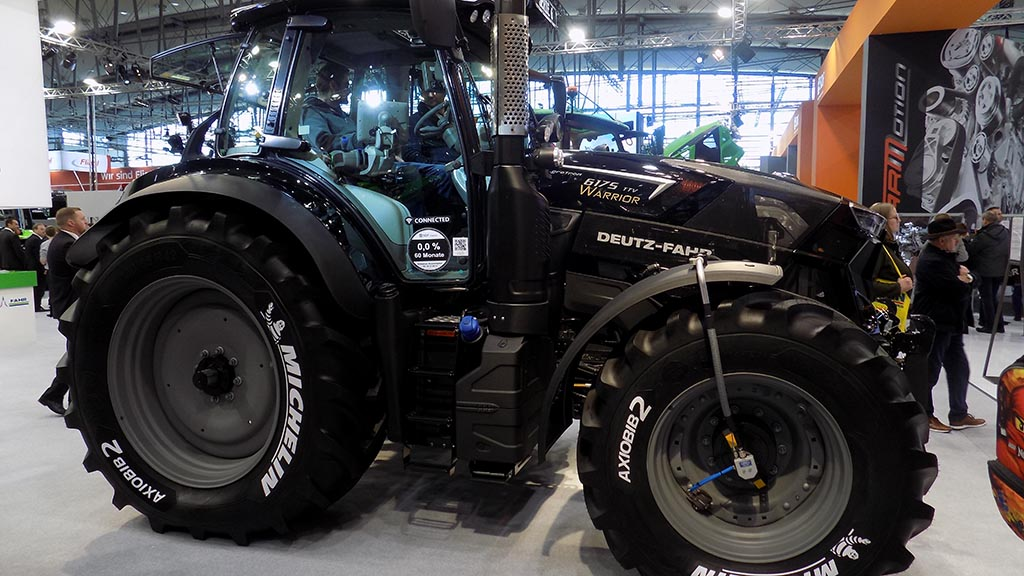 Deutz-Fahr reveals 6 series Warrior edition