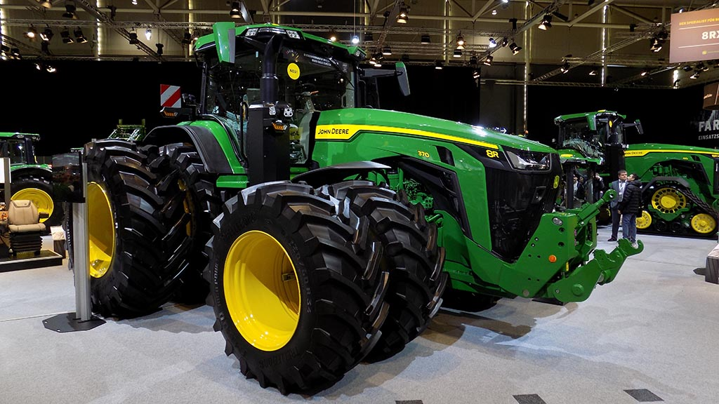 John Deere not to attend the German Agritechnica machinery show