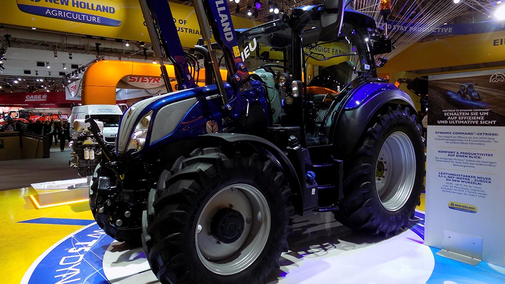With the lack of shows and events over the last 12 months, how has New Holland kept in touch with its customer and potential customer base?