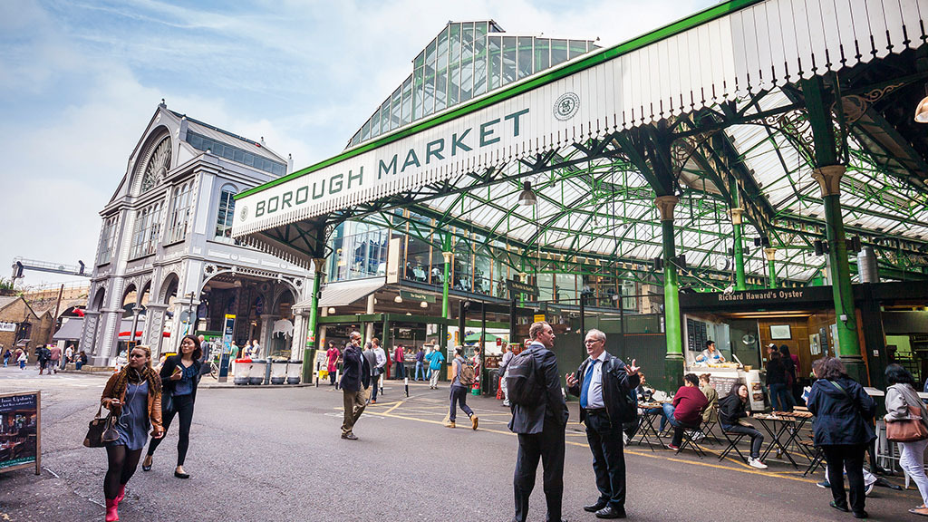 'The value people place on food has become very skewed' - Borough Market continues to flourish