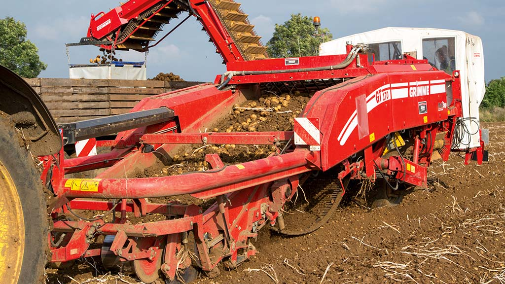 Machinery and tractor: What to look out for – used trailed harvesters for £40,000
