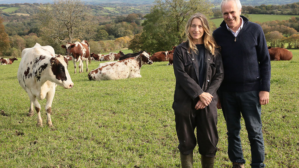 Meet the British dairy farmer who is adopting a more sustainable approach