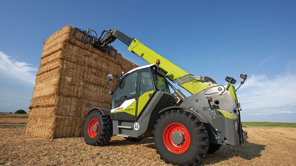 CLAAS SCORPION GETS GREATER REACH