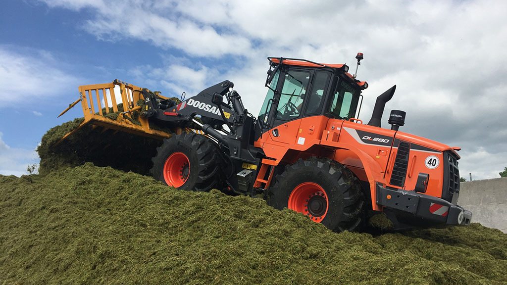 DOOSAN LAUNCHES NEW WHEELED LOADER