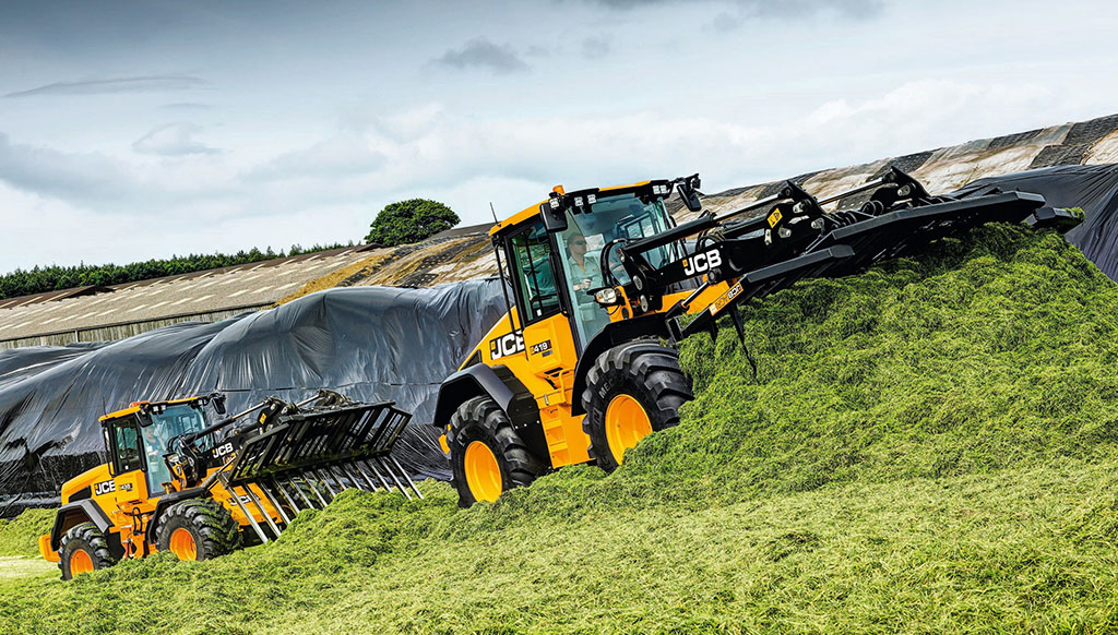 JCB WHEELED LOADER BOOST