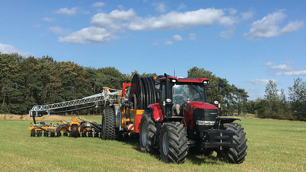Applying technology to digestate with Nutri-Flow from Veenhuis