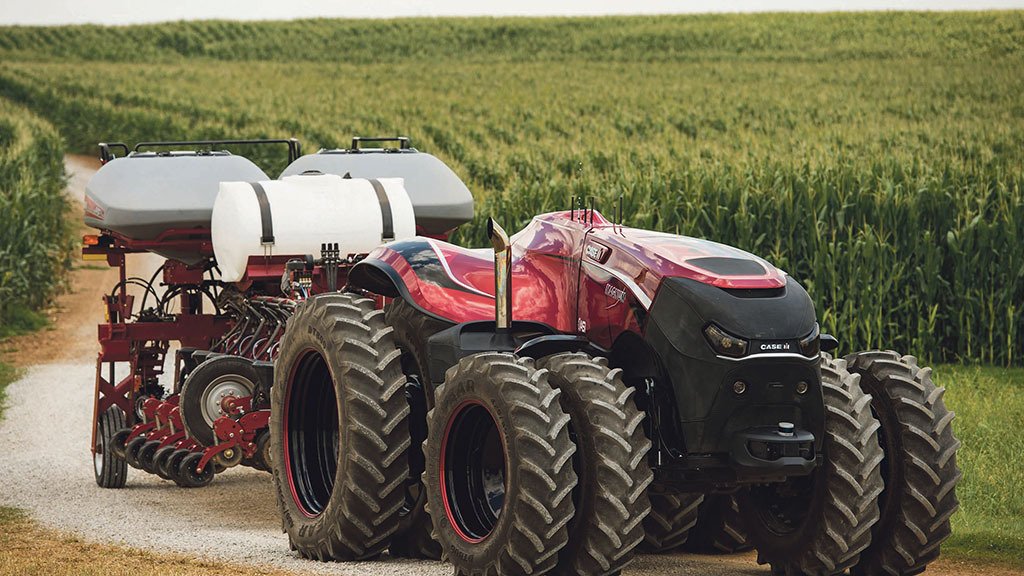 Drones and driverless technology lead future march for machinery