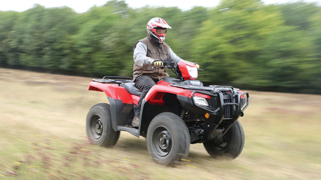 Honda increases performance levels with two new ATV models