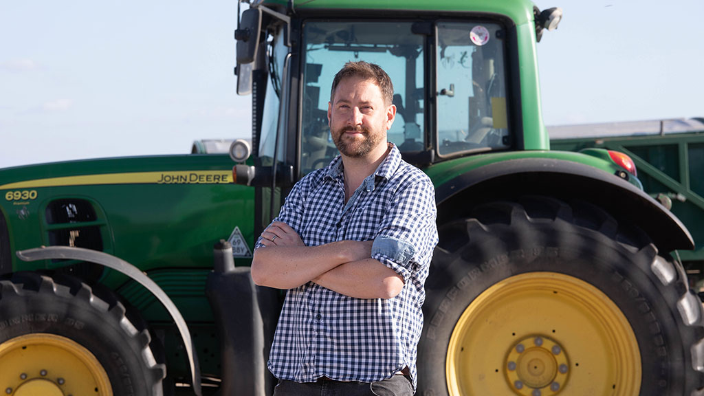 In Your Field - Tom Clarke: 'Farming is the only way forward'