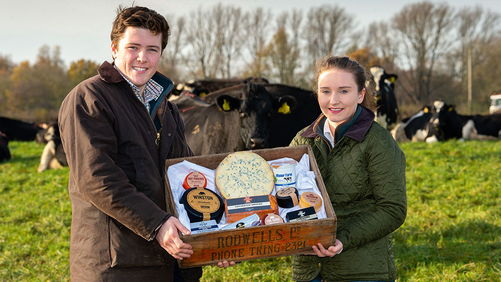 'Local businesses like the fact that we are young farmers' - couple's food box business thrives