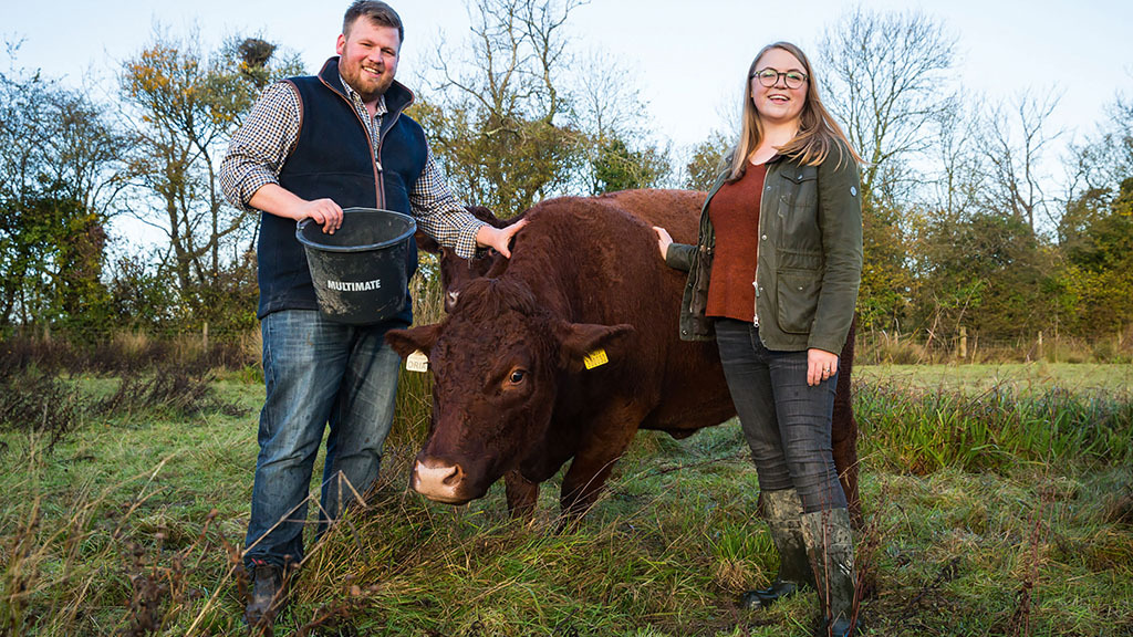 Starting from scratch: Young couple taking the plunge on farm tenancy