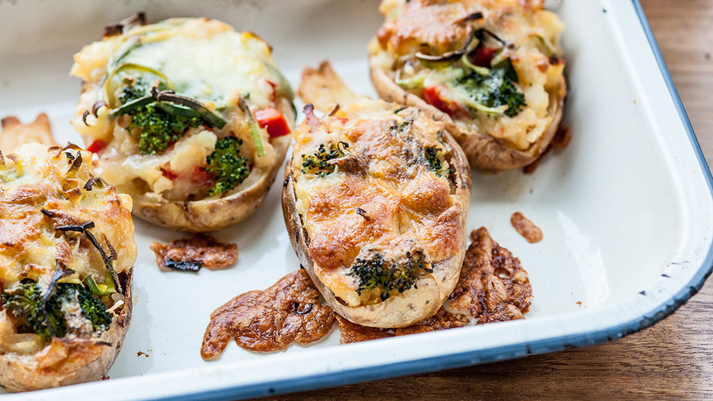 Warm up this winter with bacon stuffed spuds