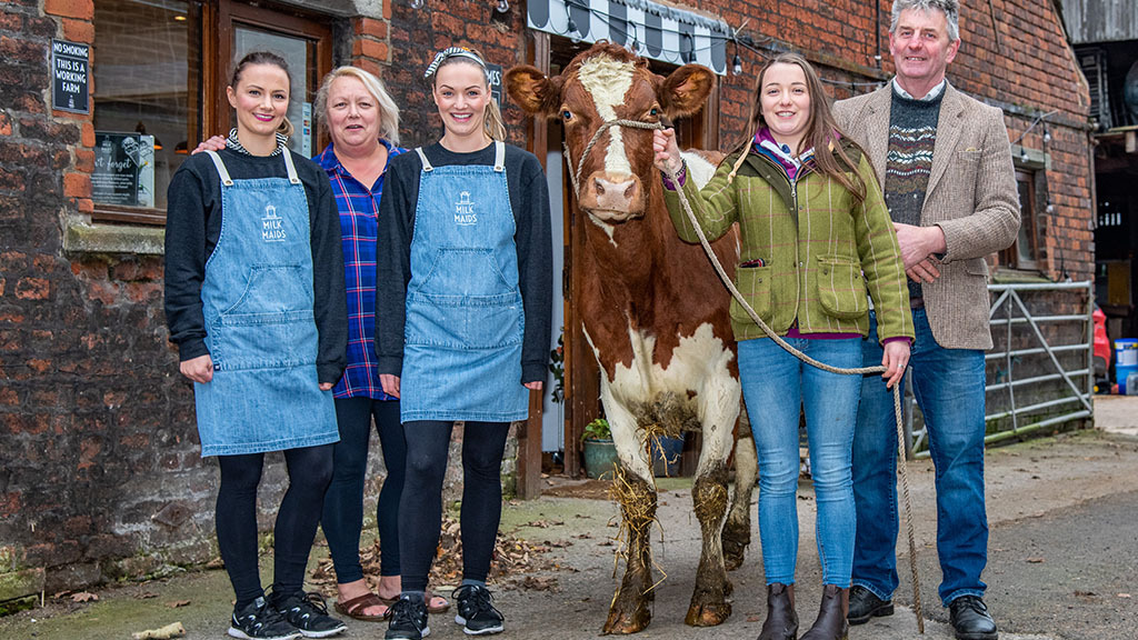 Lancashire family build ice cream business despite uncertain future