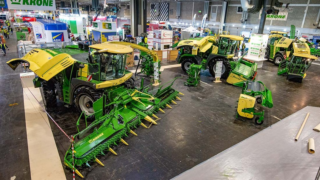 LAMMA Show 2020: Forage, feeding and bedding equipment
