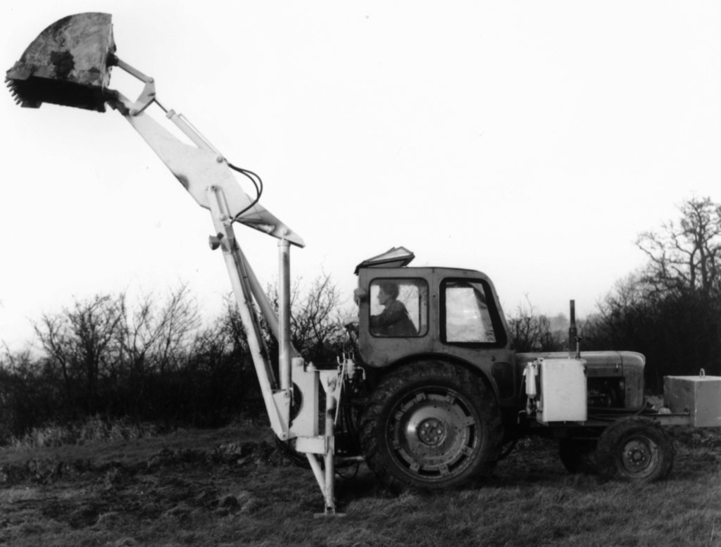 Birth of the backhoe