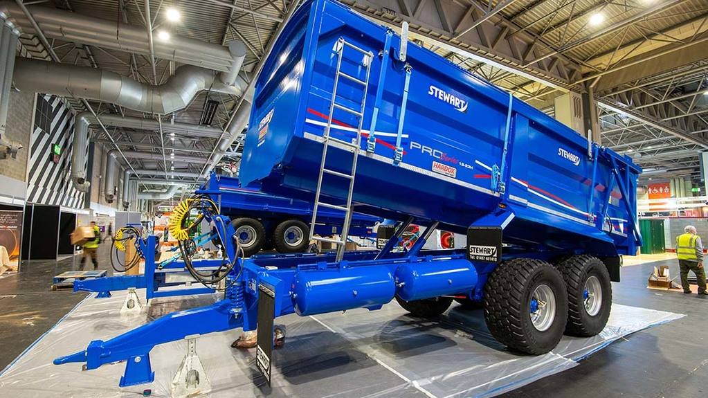 LAMMA Show 2020: Trailers, tankers and muck spreaders